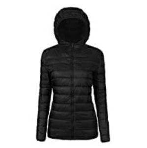 Hooded Lightweight Packable Down Jacket